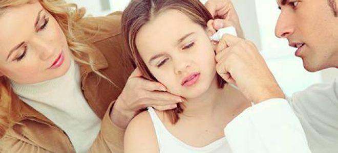 Отит у детей: симптомы и лечение патологии