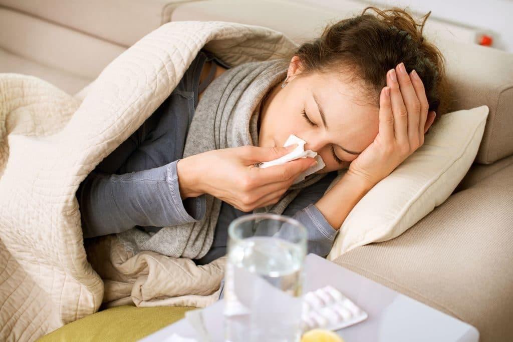 Активация ВПЧ 16 типа при простуде