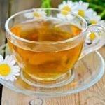 чай с ромашкой поможет при фарингите