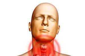 Воспаленное горло при ларингите