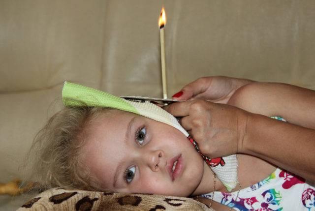 детские ушные свечи
