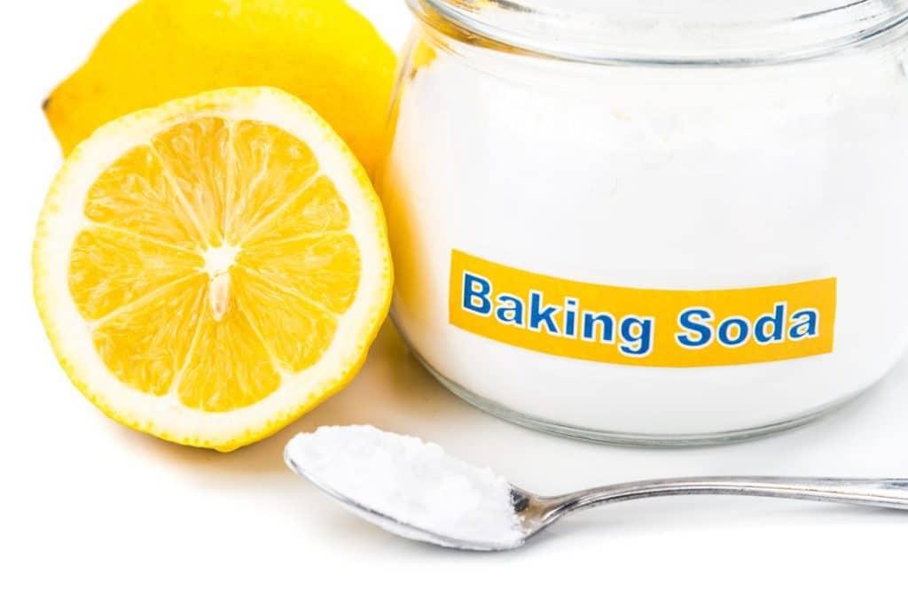 Лимон и сода от грибка ногтей