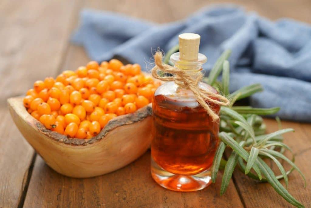 Облепиховое масло при псориазе на лице
