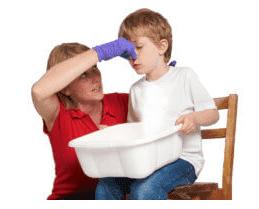 помощь при кровотечении детям