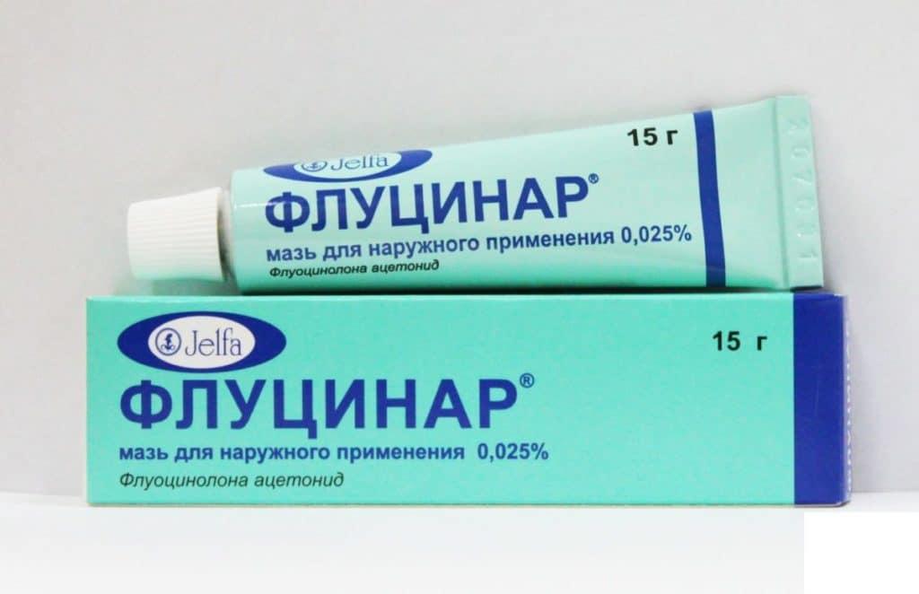 Мазь Флуцинар от псориаза