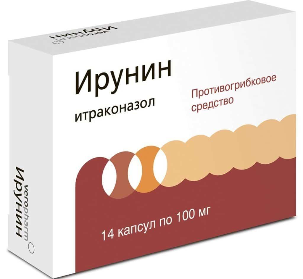 Ирунин для лечения грибка под грудью
