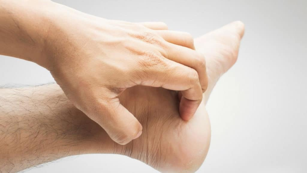 Самозаражение грибком рук