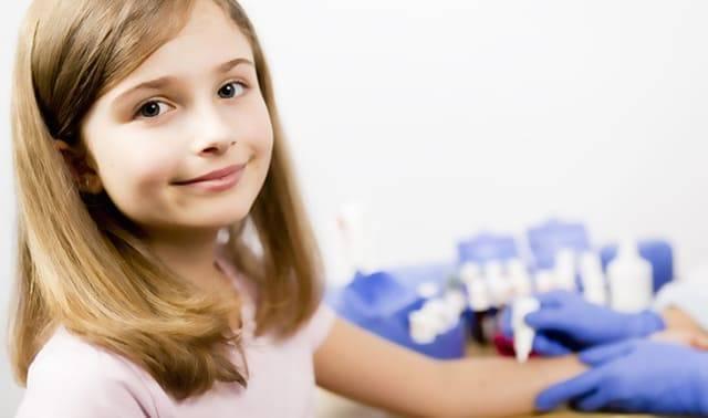 Девочка на приеме у аллерголога