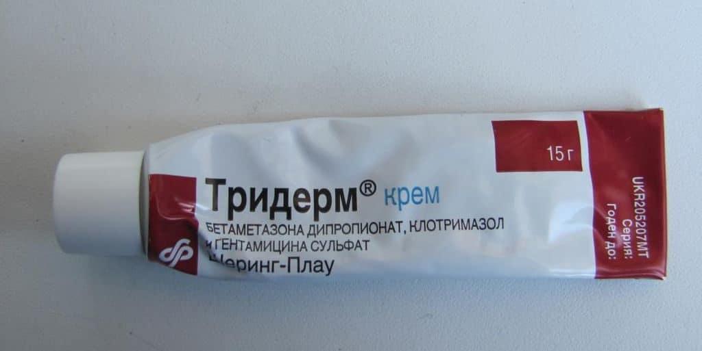 Крем Тридерм от псориаза