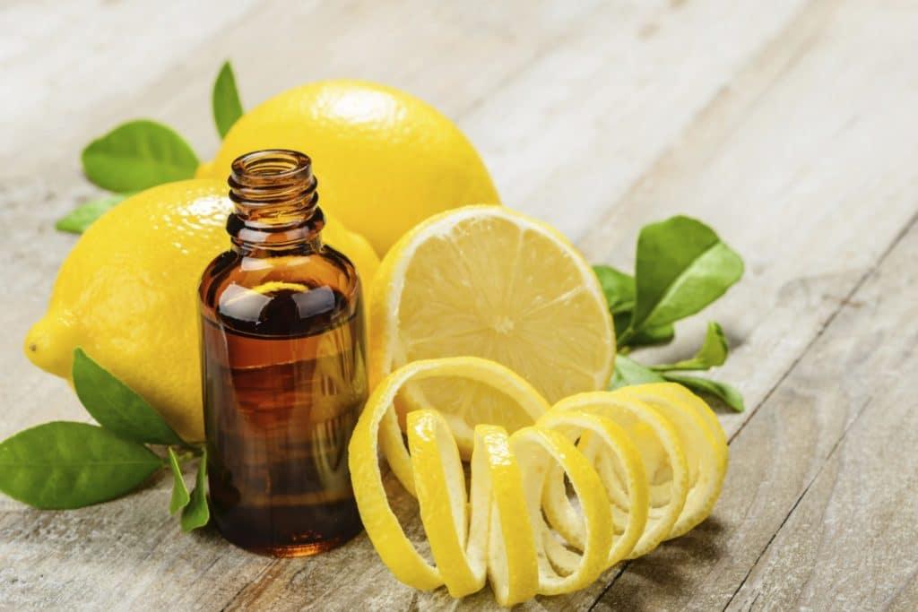 Эфирное масло лимона против грибка