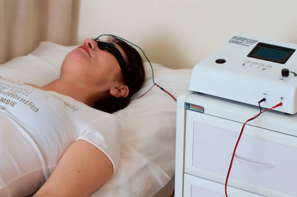 Физиотерапия при псориазе на лице