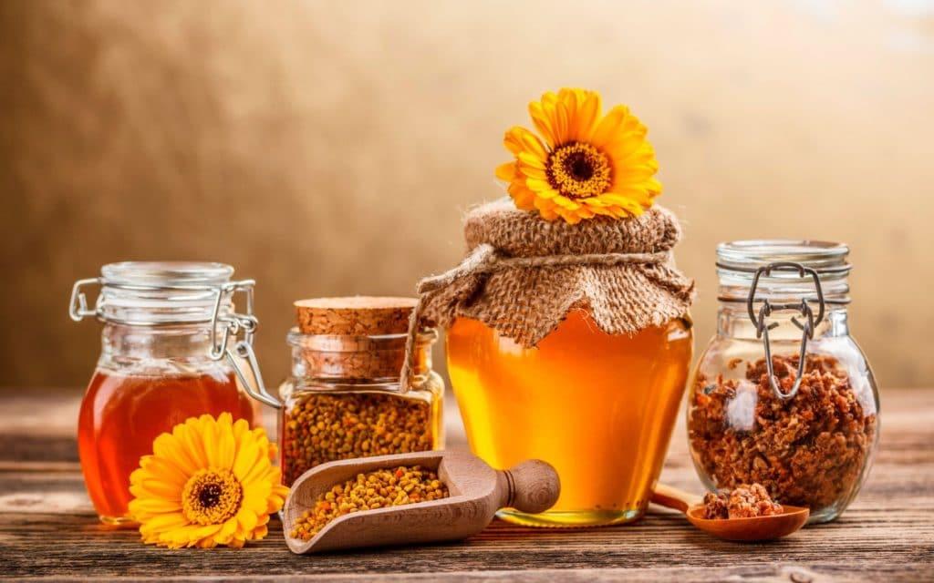 Продукты пчеловодства при псориазе