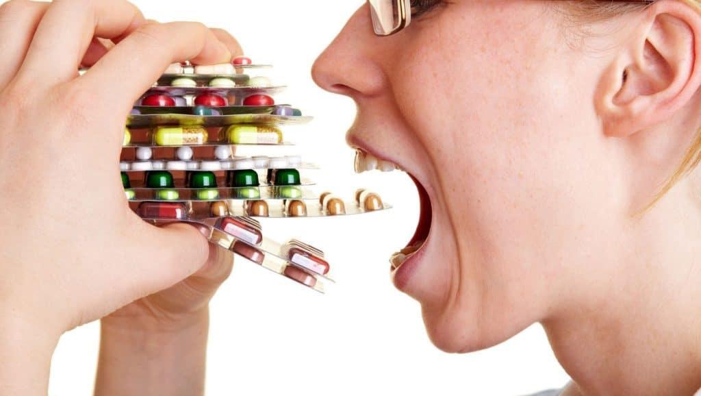 Прием медикаментов при ВПЧ
