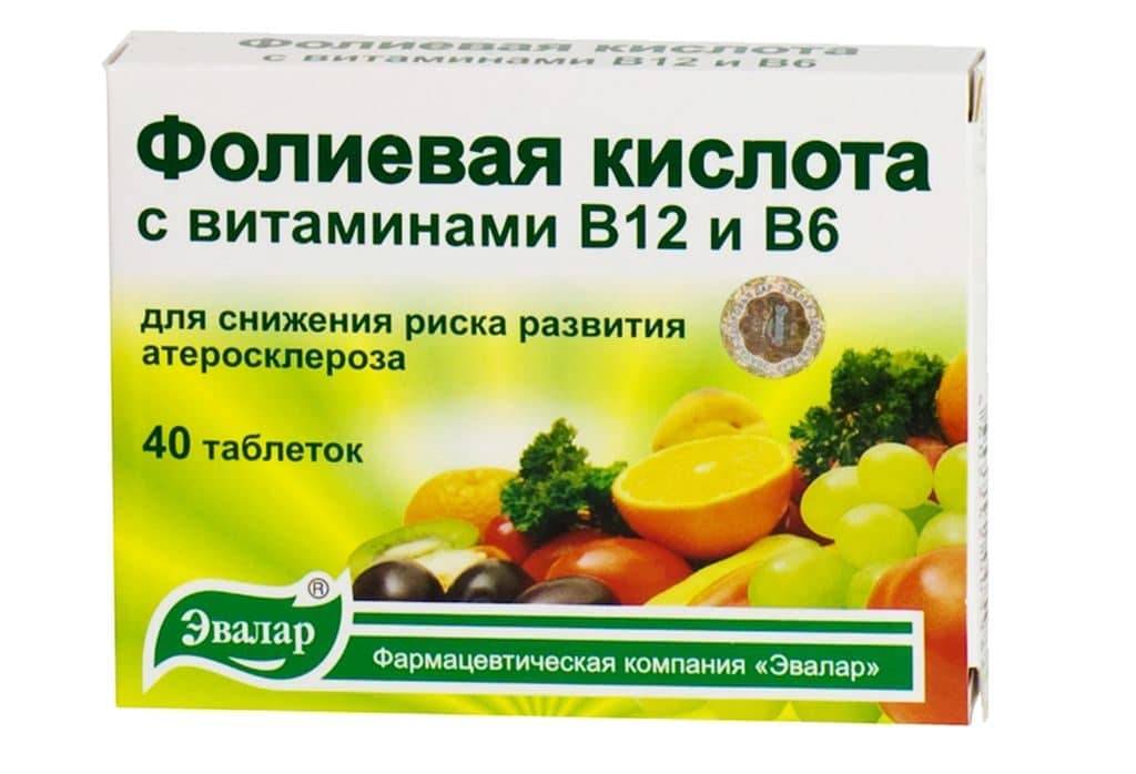 Витамин В9 при псориазе