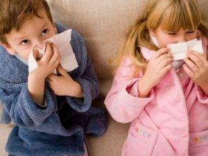 Заболевающие дети.