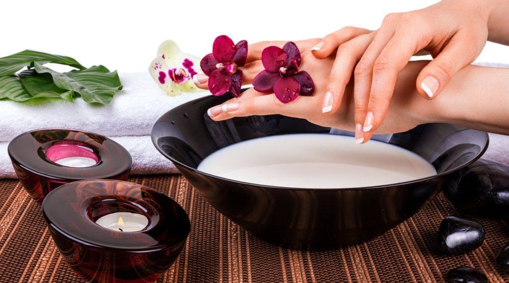 Крахмальная ванночка для рук от морщин
