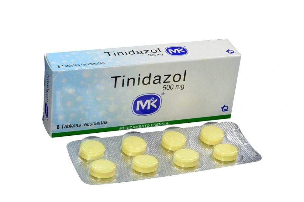 Таблетки Тинидазол